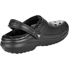 Crocs Classic Lined Clogsit, black/black